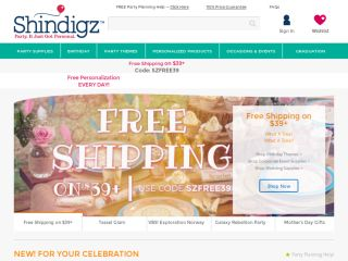 Shop at shindigz.com