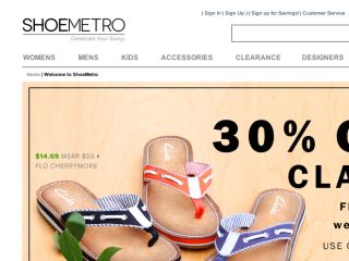 Shop at shoemetro.com