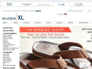 Shop at shoesxl.com