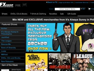 Shop at shop.fxnetworks.com