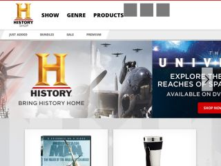 Shop at shop.history.com