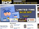Shop.southparkstudios.com Coupon Codes