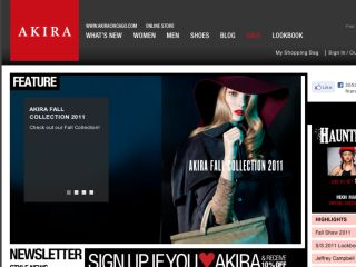 Shop at shopakira.com