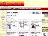 Browse Shop Of Legends