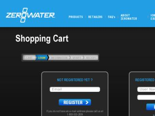 Shop at shopping2.zerowater.com