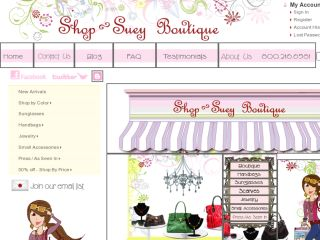 Shop at shopsueyboutique.com