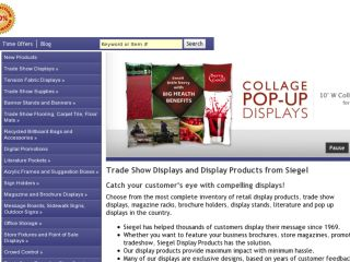 Shop at siegeldisplay.com