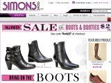 Browse Simons Shoes