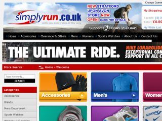 Shop at simplyrun.co.uk