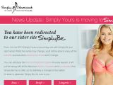 Browse Simply Yours Lingerie