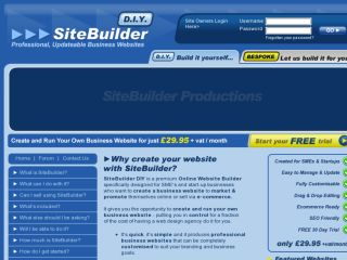 Shop at sitebuilderdiy.co.uk