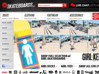Shop at skateboards.com