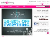 Browse Skyler Clothing