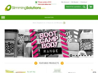 Shop at slimmingsolutions.co.uk
