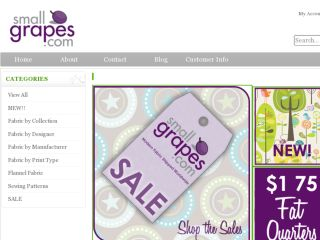 Shop at smallgrapes.com