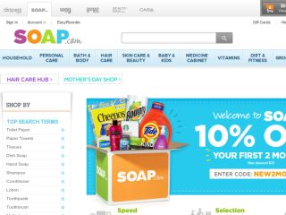 Shop at soap.com