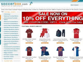 Shop at soccerbox.com