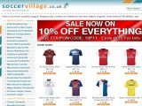 Soccervillage.co.uk Coupon Codes