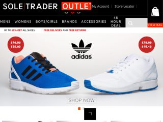 Shop at soletraderoutlet.co.uk