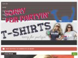 Sorryforpartyin.com Coupon Codes