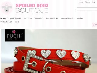 Shop at spoileddogz.biz
