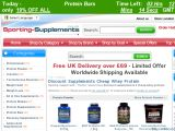 Sporting-Supplements.co.uk Coupon Codes