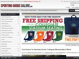 Browse Sporting Goods Galore