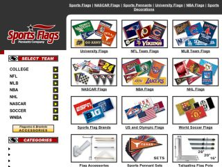 Shop at sportsflagsandpennants.com