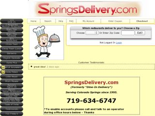 Shop at springsdelivery.com