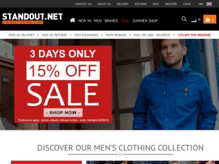 Shop at stand-out.net