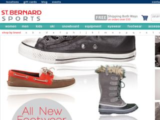 Shop at stbernardsports.com