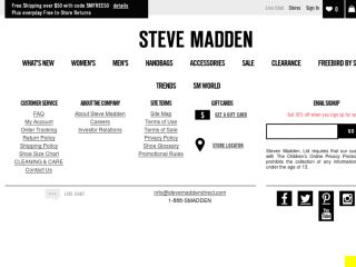 Shop at stevemadden.com
