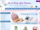 Browse Stork Baby Gift Baskets