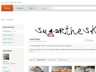 Shop at sugarthesky.etsy.com