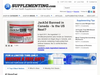 Shop at supplementing.com