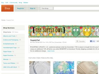 Shop at supplyowl.etsy.com