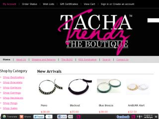 Shop at tachatrendz.com