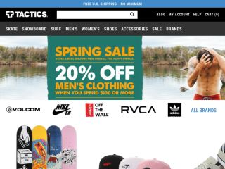 Shop at tactics.com