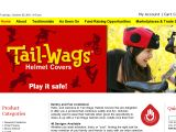 Browse Tail Wags Helmet Covers