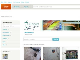 Shop at tailoredhope.etsy.com