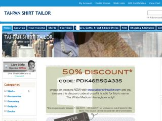 Shop at taipanshirttailor.com