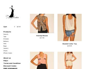 Shop at tannyscouture.bigcartel.com