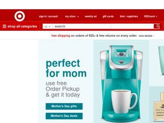 Shop at target.com