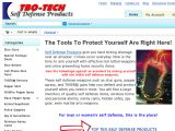 Browse Tbo-Tech Self Defense Products