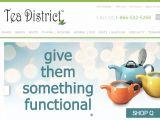 Browse Tea District Gourmet Teas