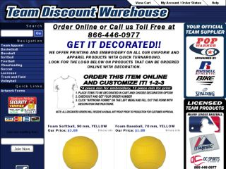 Shop at teamdiscountwarehouse.com