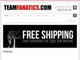 Teamfanatics.com Coupon Codes