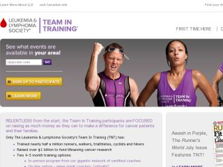 Shop at teamintraining.org