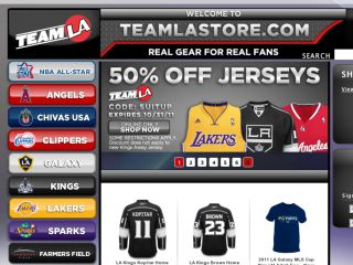 Shop at teamlastore.com