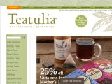 Browse Teatulia Tea